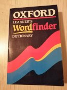 Oxford Wordfinder Dictionary