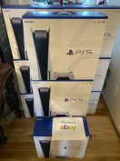 PS5 Sony Playstation 5 Console Disc Version Brand New