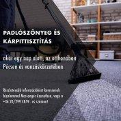 Padlószőnyeg és kárpittisztítás
