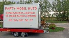 Party Mobil Hűtő bérelhető