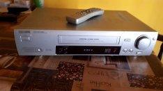 Philips vr 705 4 vhs videomagnó ezüst