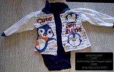 Pingvines body szett