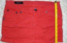 Piros Gucci mini szoknya S méret