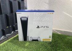 Playstation 5 Lemezes I Új bontatlan, hétvégén is azonnal átvehető PS5