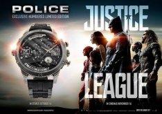 Police férfi óra új limitált szériás Igazság Ligája eladó 135E Ft
