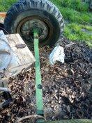 Pótkocsi tengely utánfutó traktor kistraktor csere is