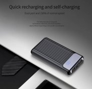 Power Bank 10000mAh QC3.0 gyors töltő hordozható külső akkumulátor