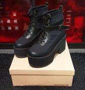 Quanticlo Nathy új olasz fekete rövid szárú boka csizma eladó!