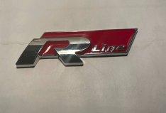 R-Line embléma 3 D fém