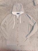 Ralph Lauren szürke férfi melegítő felső pulóver pulcsi M-L