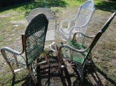 Rattan (vessző) a székek