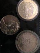 Régi ezüst érmék