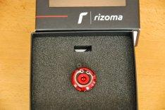 Rizoma olajbetöltő sapka piros