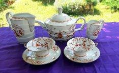 Rodenthal porcelán teás szett