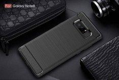 Samsung Galaxy Note 8 Armor Silicone Carbon text. ütésálló
