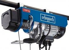 Scheppach HRS 400 csörlő-emelő - 1 év garancia