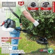 Scheppach fűkasza PBC32TC4 garanciával. Barkácsgépek Centrum