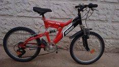 Schwinn Csepel ranger fully össztelós MTB 20-as, jó állapotú kerékpár