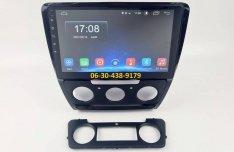 Skoda Octavia 2004-2013 Android autórádió fejegység gyári helyre 1-4GB