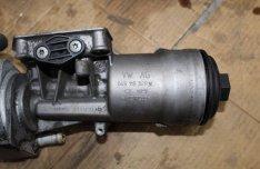 Skoda Octavia RS 2007 2.0D Olajszűrő ház 045115389K