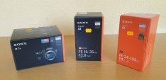 Sony 7III Sony 24-105 Sony 16-35