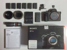 Sony alpha 7R II extrákkal (Sony Alpha Ilce-7R II)