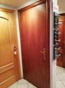 Spanyol rajzos mahagóni furnéros ajtó féláron eladó