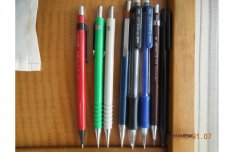 Staedtler, Uchida, Senator, Pentel szerkesztő ceruzák