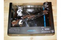 Star Wars Black Series 15 cm (6 inch) Speeder Bike & Scout figura