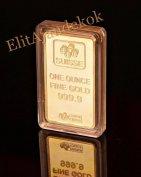 Svájci (Pamp) arany tömb replika eladó
