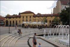 Szeged Belváros, Dugonics Tér, Kárász Utcánál,