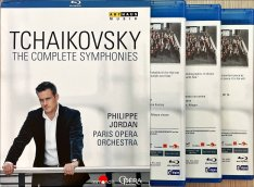 Tchaikovsky - The Complete Symphonies bluray