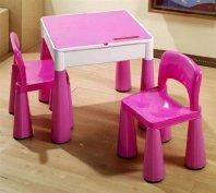 Tega Baby Mamut szett, asztal + 2 db szék , 3 színben
