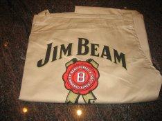 Teljesen új eredeti kivételes minőségű Jim Beam kötény! Made in USA!