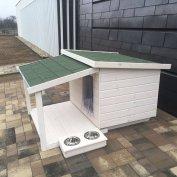 Teraszos kutyaház