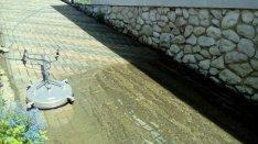Térkő tisztítás, térkő mosás, napelem tisztítása és sírkő tisztítás