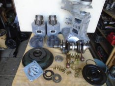 Trabant 601-es motorok felújítva, eladók!
