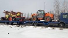 Traktor, Permetező, MTZ, Túlméret, Gépszállítás!
