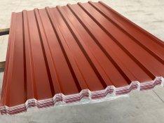 Trapézlemez azonnal vihető szürke és bordó színben 2.550 Ft/m2