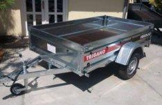 Trigano P233 (233 x 132 cm) 1 tengelyes 750 kg-os utánfutó eladó