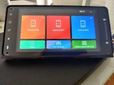 Új 2gb android Toyota rav4 hilux prado nissan leaf fejegység autórádió