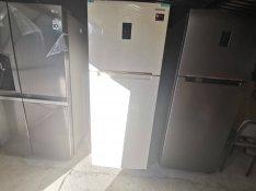 Új 500l-es bézs márvány színű /ritkaság! /nagy kombi hütő 280e Ft hely