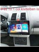 Új 9 col 2gb android 1din 2din multimédia fejegység autórádió GPS wifi