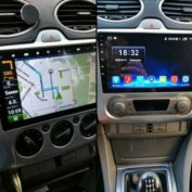 Új Android Ford focus Óriás kijelzős autó multimédia hifi GPS rádió
