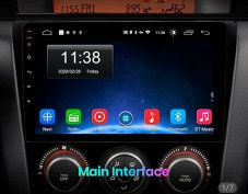 Új Android Mazda 2 3 5 6 cx5 cx7 autó multimédia GPS hifi Rádió