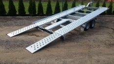 Új Billenő platós Pongratz L-AT 400 T-K - 2600 kg-os utánfutó