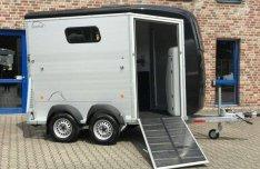 Új Böckmann Portax K 2400 kg-os lószállító utánfutó akciós áron