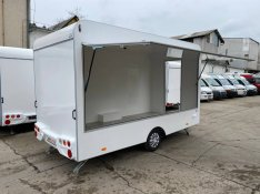 Új Büfékocsi Food Truck Mozgóbolt Salesvan