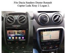 Új Dacia Duster Logan Sandero Android autó multimédia rádió fejegység