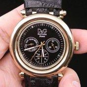 Új Dolce & Gabbana D&G bőr szíjas férfi óra